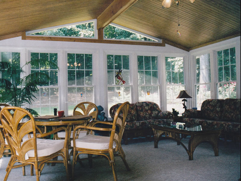 Basic designs georgia sunroom Four season rooms